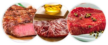 Cortes de carne argentino